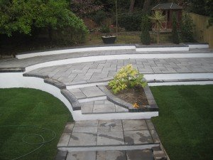 marc of approval, parkstone, refurbishment, poole, dorset,new build, renovation, garden, landscaped, turf, patio, paving
