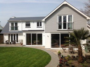marc of approval, parkstone, refurbishment, poole, dorset, renovation, cladding, new england style house, sandbanks