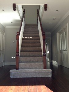 marc of approval, parkstone, refurbishment, poole, dorset, renovation, new build, entrance hall, stairs, carpentry