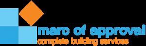 Marc of Approval logo, branding, graphite studios
