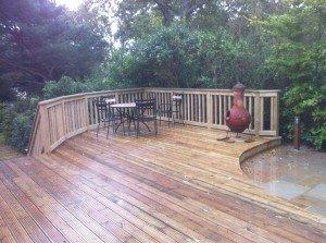 marc of approval, parkstone, refurbishment, poole, dorset, garden, landscaped, decking