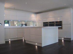 marc of approval, parkstone, refurbishment, poole, dorset, kitchen, new, high gloss white