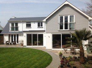 marc of approval, parkstone, refurbishment, poole, dorset, renovation, cladding, new england style house, sandbanks