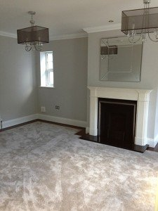 marc of approval, parkstone, refurbishment, poole, dorset, renovation, new build, lounge, fireplace, carpet